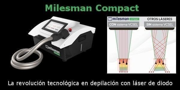 Láser de diodo:             Milesman Compact